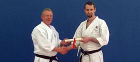 2013 Paul Burnley 3rd Dan Presentation