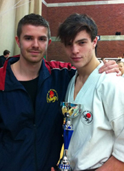 Liam Hooper - 42nd Portsmouth Open Karate Tournament