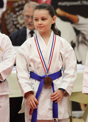 Faye Manning - 42nd Portsmouth Open Karate Tournament