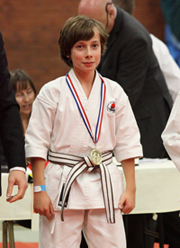 Ethan Cutts - 42nd Portsmouth Open Karate Tournament
