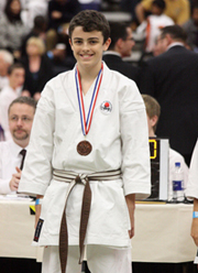 Kieran Jones - 42nd Portsmouth Open Karate Tournament