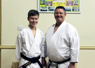 >ASK Junior Karateka of the Year 2014 Winner - CIAN HOGAN