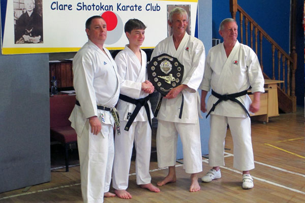 Presentation of the Matthew Walton Memorial Shield for 2014