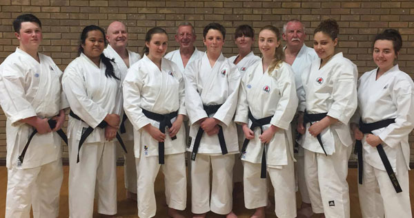Sensei Hazard Training Course and Dan Grading May 2016