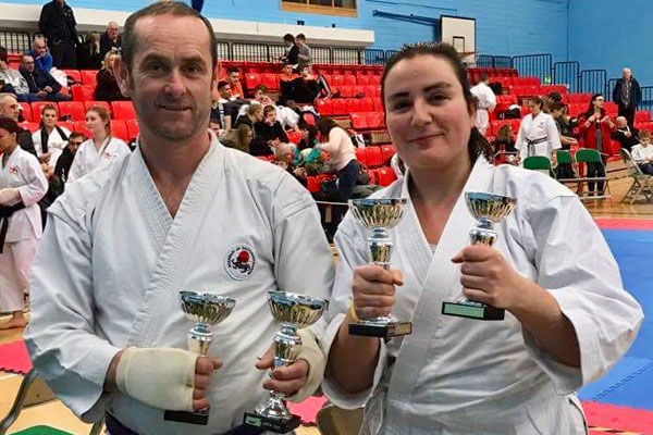 17th Legend Karate Championship - Michel Holden & Celine Martinet